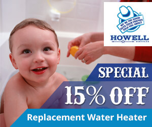 Howell Services 15% off special