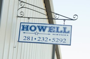 howell services sign