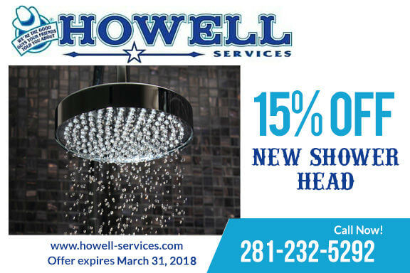 15% Off on New Shower Head