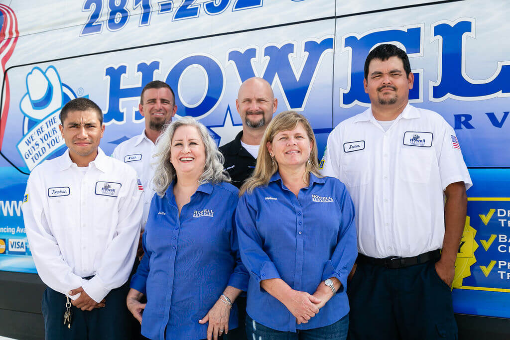 howell services plumbers