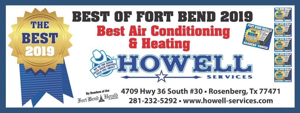 2019 Best of Fort Bend Air Conditioning and Heating