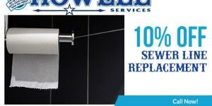 sewer line replacement coupon